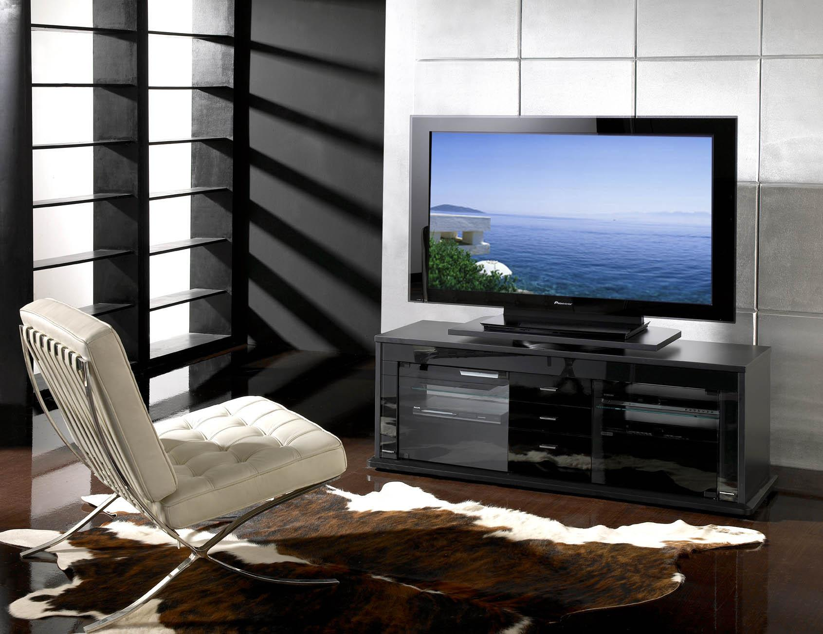 meubles tv pratiques et esth tiques meuble tv fonctionnel. Black Bedroom Furniture Sets. Home Design Ideas