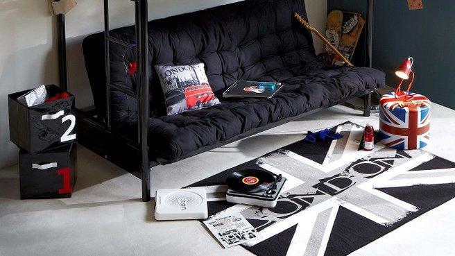 Id es d co pour chambre d 39 ado d coration chambre d 39 adolescent fam - Deco urbaine chambre ado ...
