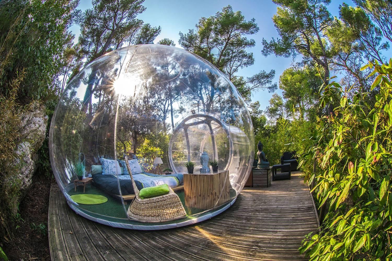 bulle hebergement séjour