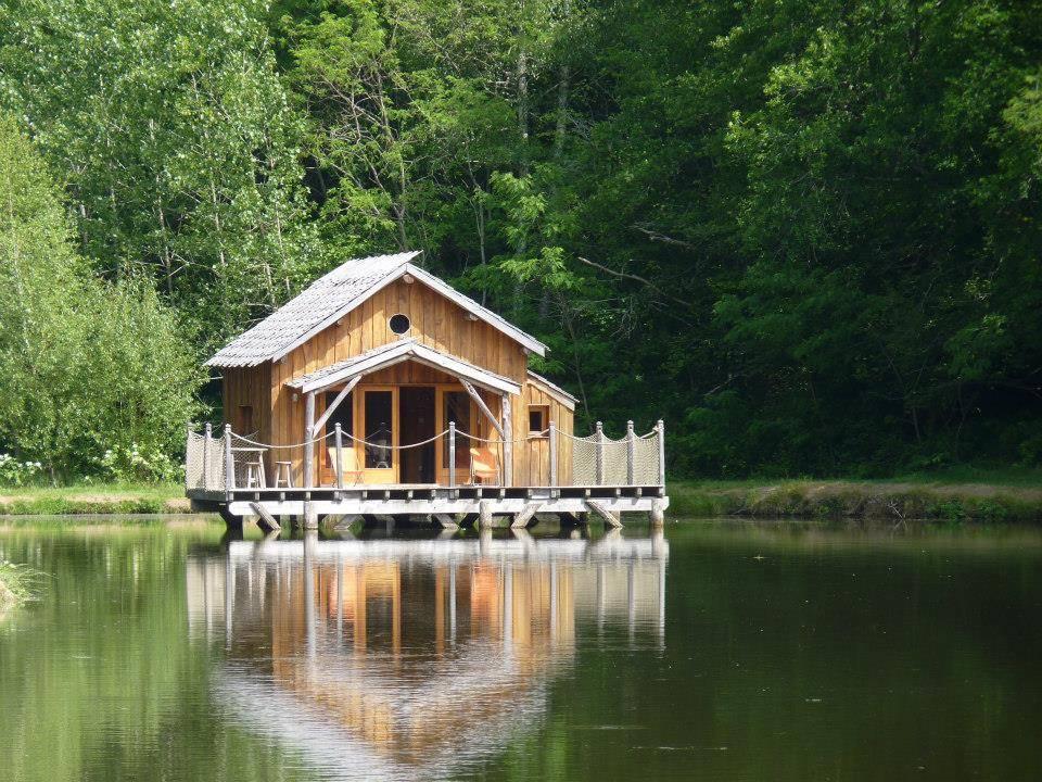 cabane flottante hebergement sejour