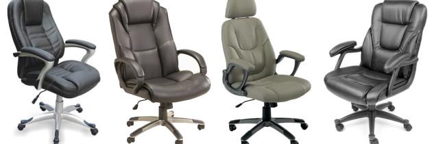 choisir une chaise de bureau en cuir. Black Bedroom Furniture Sets. Home Design Ideas