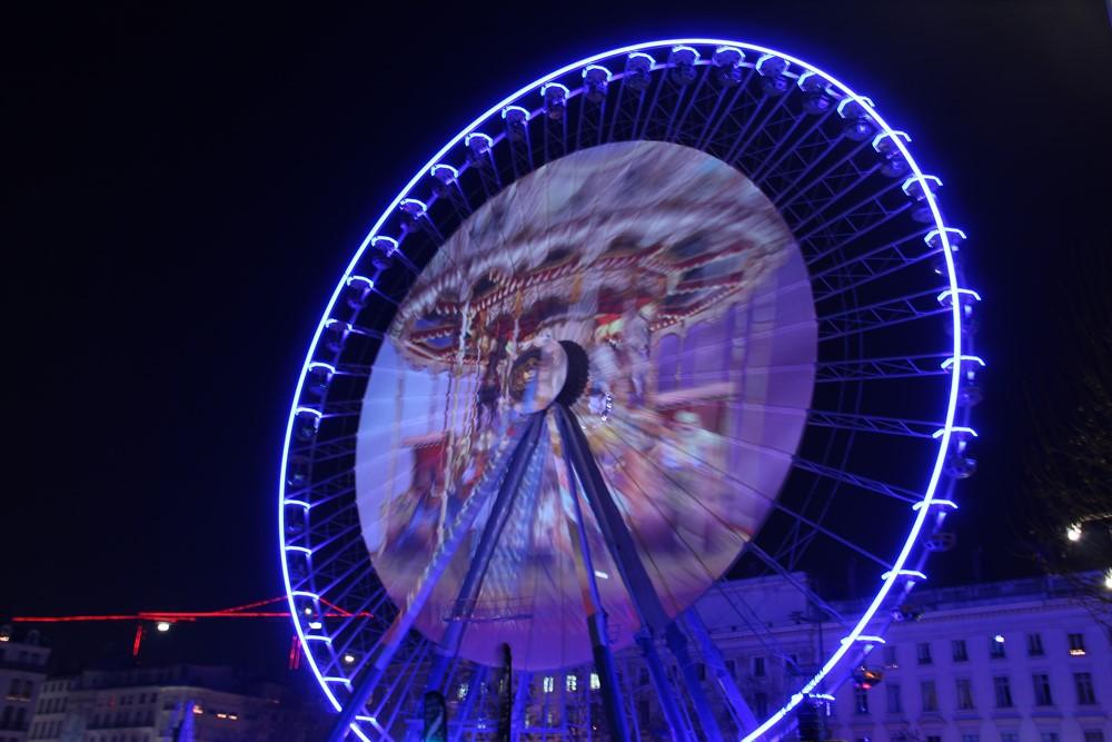 La fête des Lumières à Lyon attire, chaque année, entre trois et quatre millions de visiteurs. Photo DR