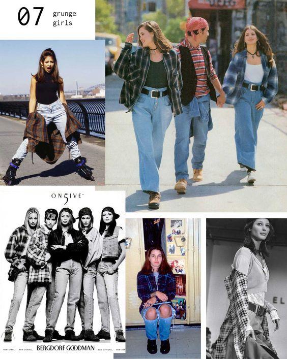 Mode des années 90