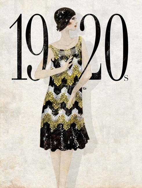 Robe des années 20