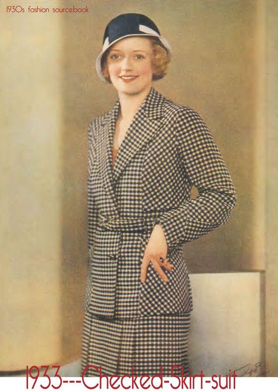 Tailleur des années 30