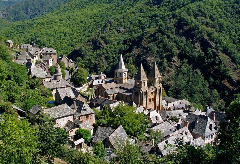 Unesco-chemin-Compostelle-conques-france