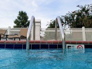 clôture piscine