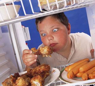 L'obésité des enfants