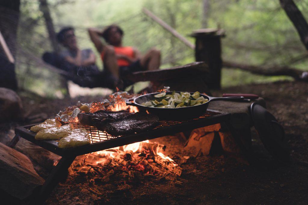 Comment cuisiner en camping ?